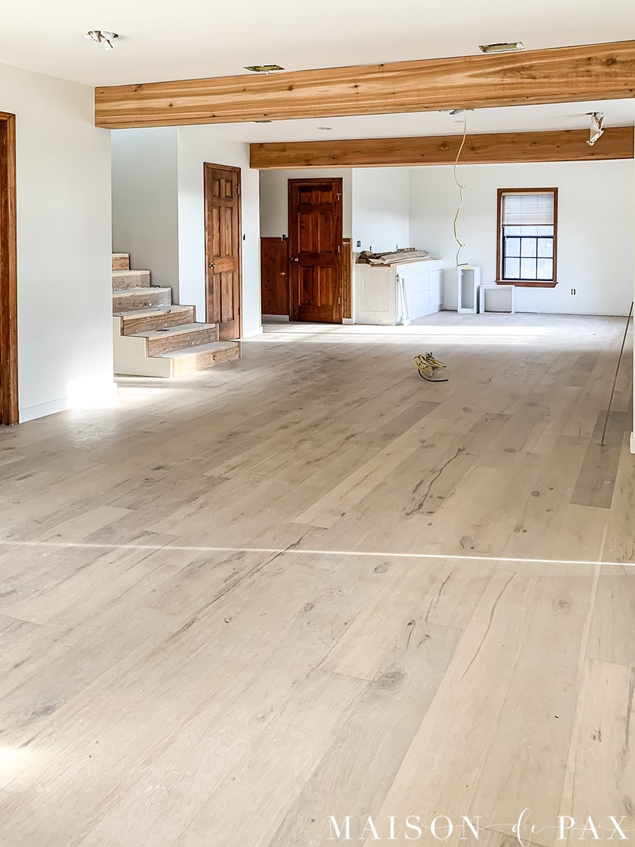 farmhouse renovation process | Maison de Pax