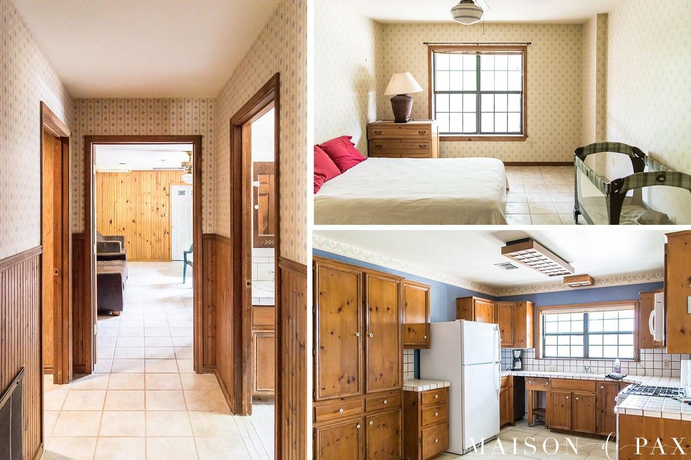 farmhouse renovation BEFORE | Maison de Pax