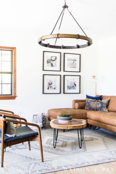 Tips for Choosing Leather Living Room Furniture