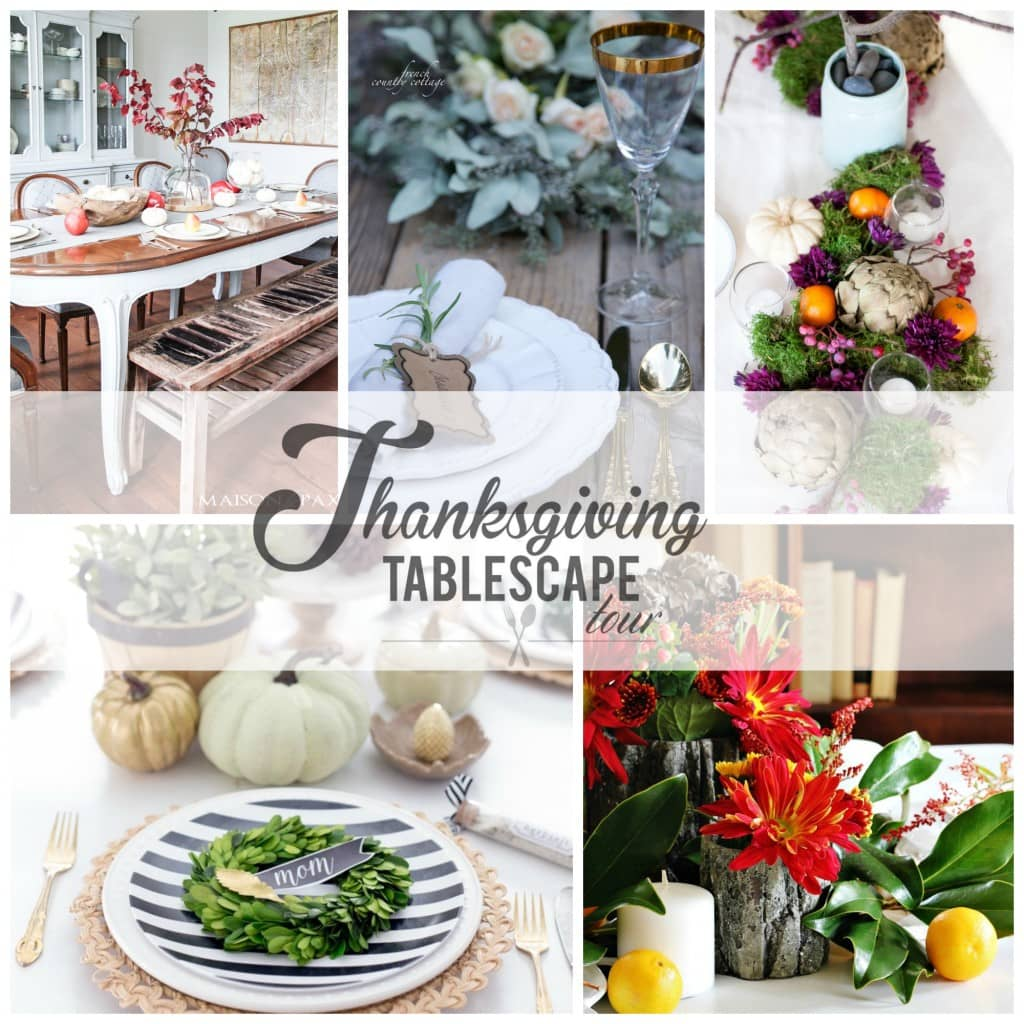 Thanksgiving tablescape tour day 2