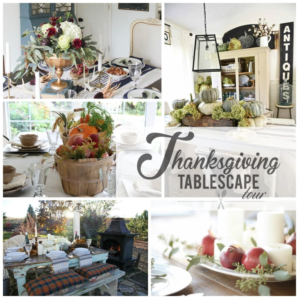 Thanksgiving tablescape tour day 3