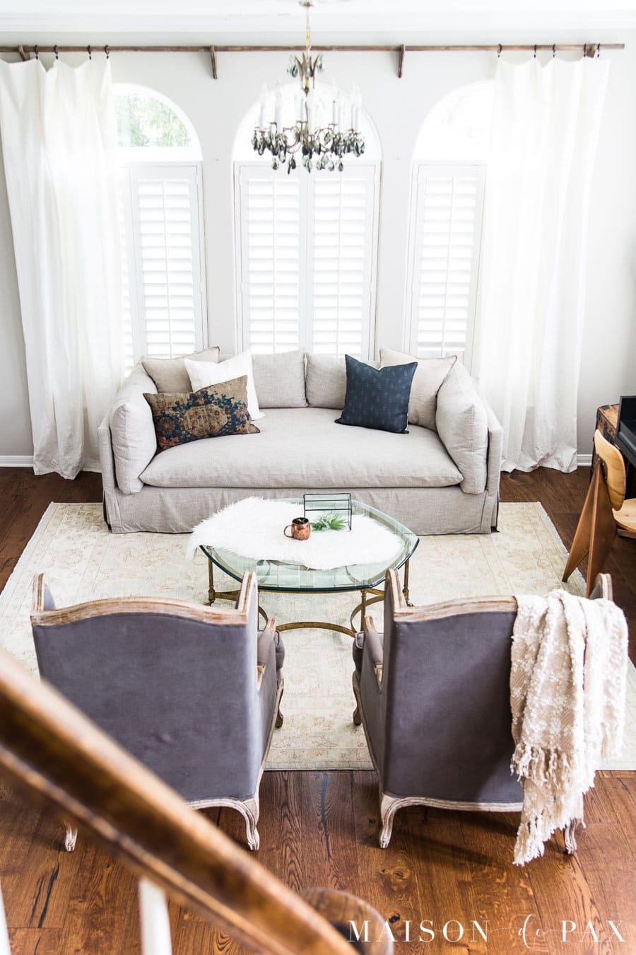 living room layout ideas   Maison de Pax