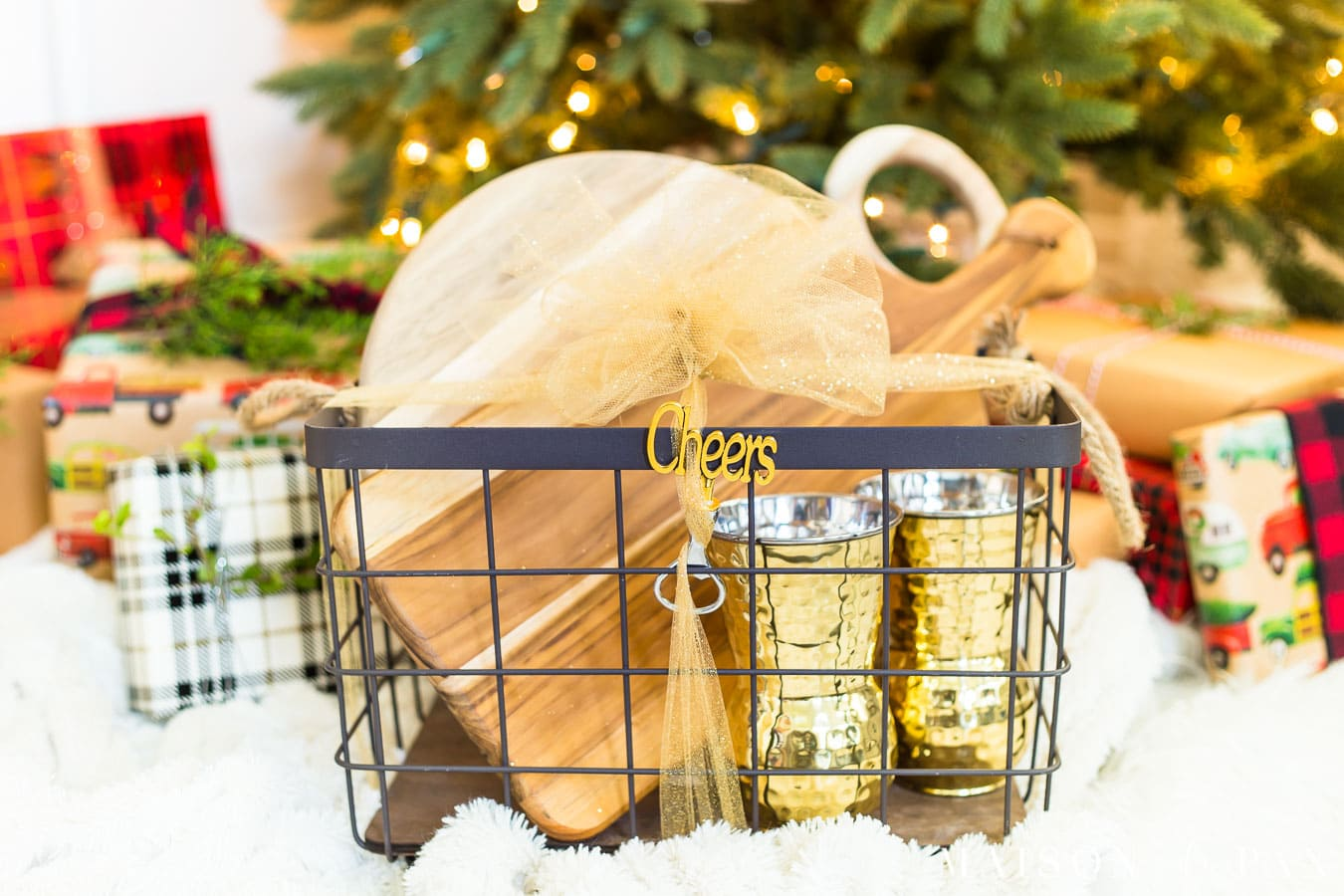 Creative Christmas Gift Basket Ideas Maison De Pax