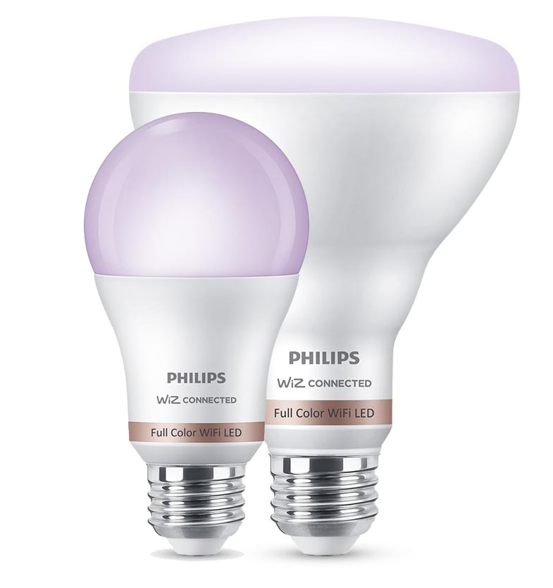 regular and recessed smart bulbs