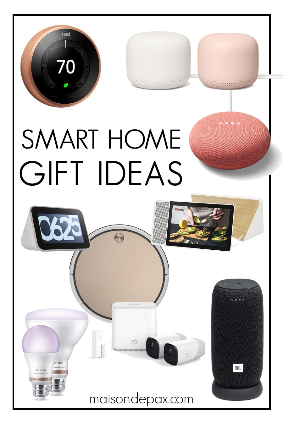 round up of stylish smart home devices