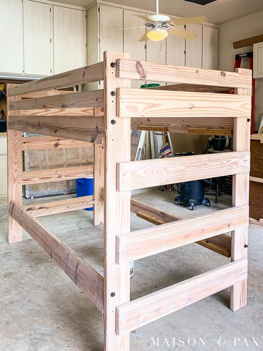 Picture of: Diy Painted Bunk Beds Maison De Pax