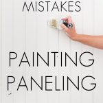 3 common mistakes painting paneling and how to avoid them | Maison de Pax