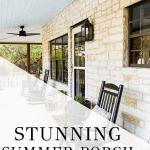 stunning summer porch tour | Maison de Pax