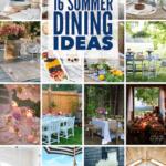 16 summer dining ideas