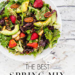green salad with fruit and nuts | Maison de Pax
