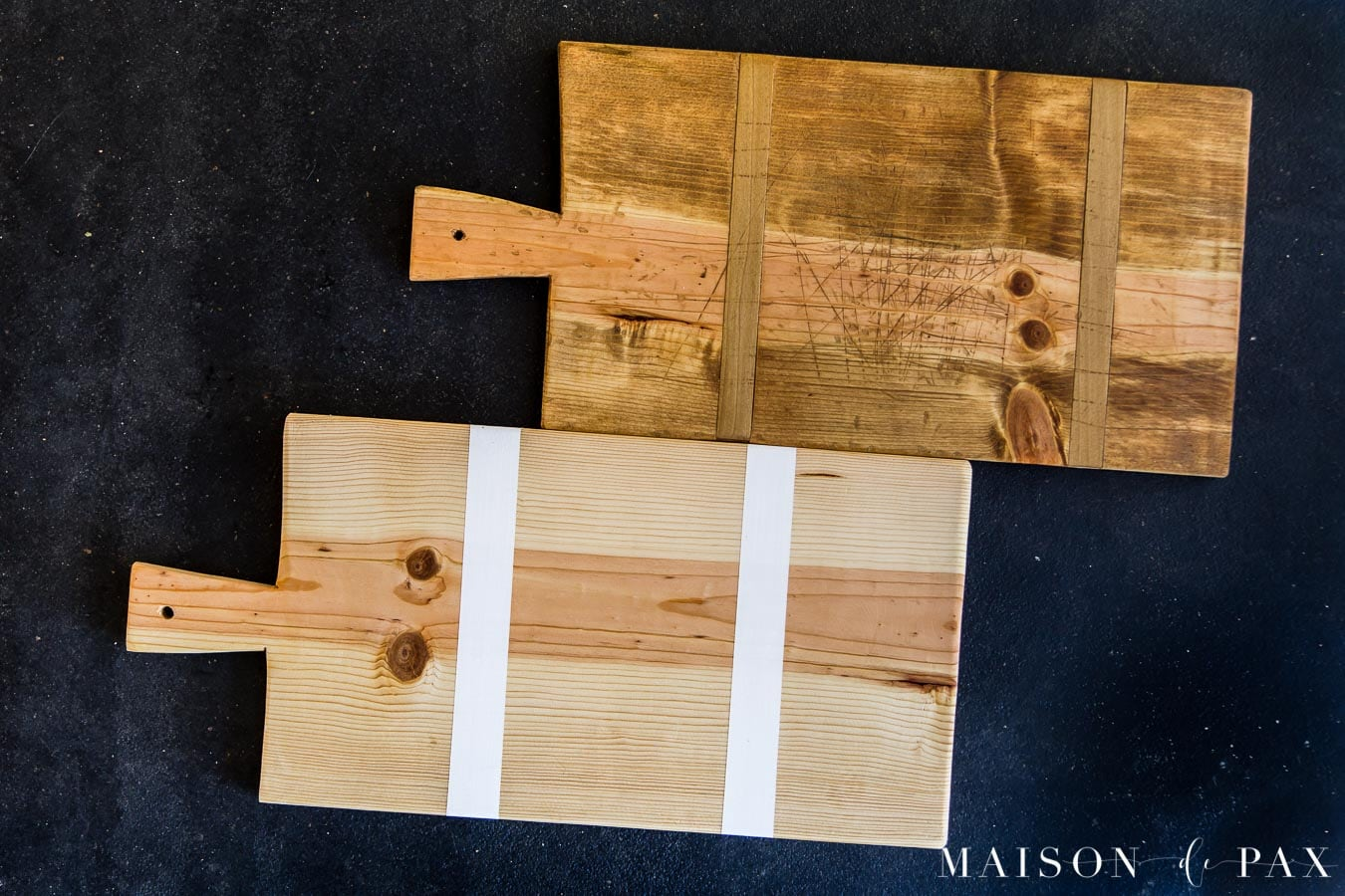 DIY cutting boards, antique bread boards, modern charcuterie boards | Maison de Pax