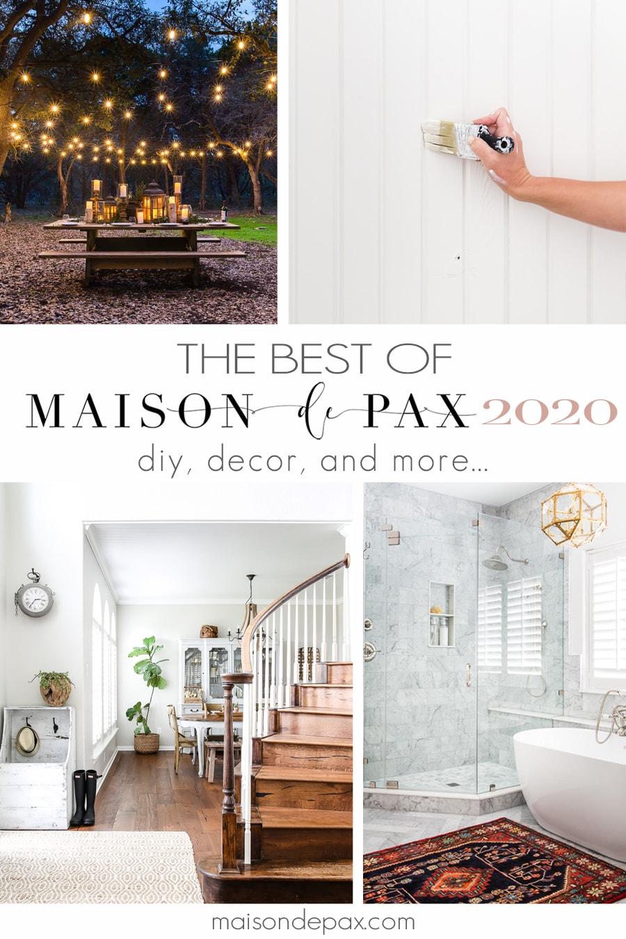 best of Maison de Pax 2020