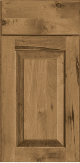 rustic maple raised panel doorstyle from Kraftmaid