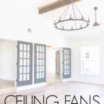 ceiling fans that aren't ugly