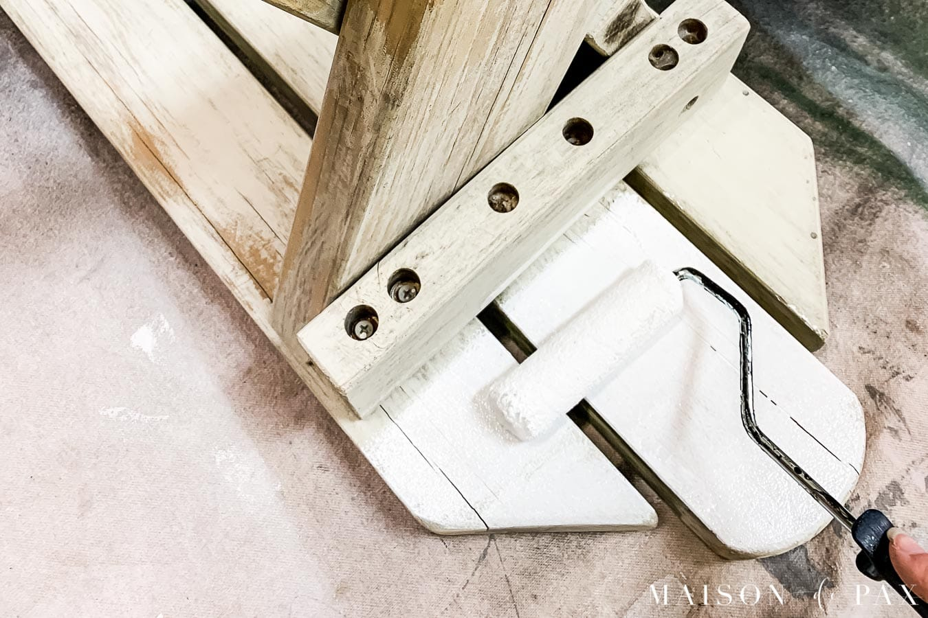 priming wood furniture for outdoor use