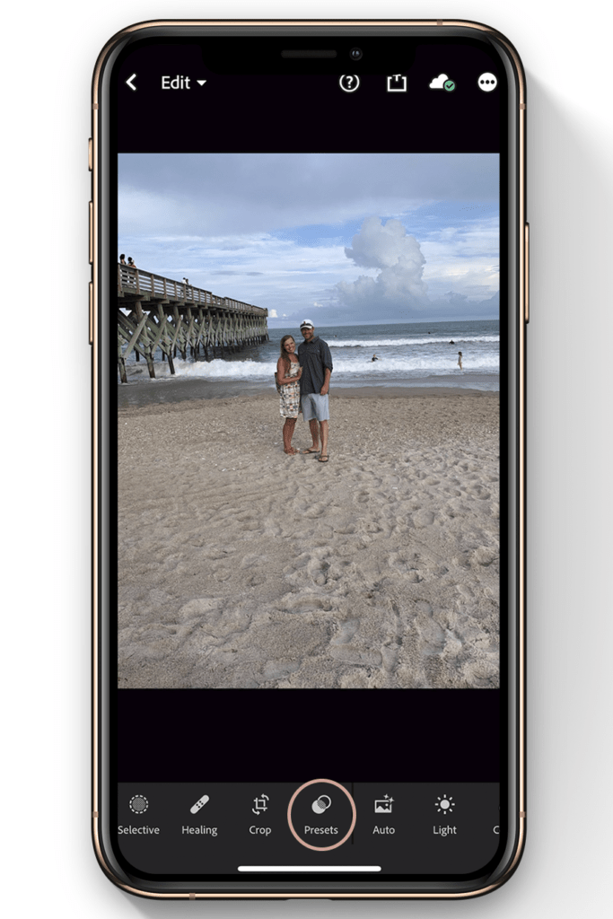 lightroom mobile editing tutorial-how to use presets