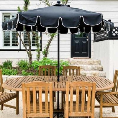 refinished honey gold teak furniture outdoor dining set