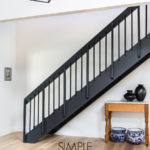 simple stairway makeover renovation